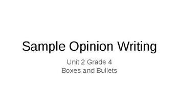 Opinion Writing Presentation