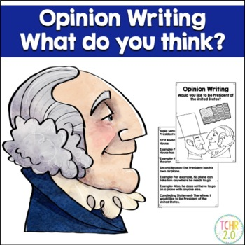 Opinion Writing Prompt February Presidents' Day Abe Lincol