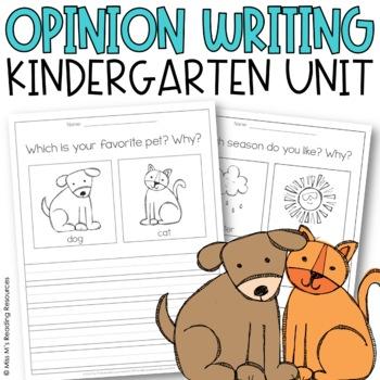 Opinion Writing No-Prep Printable Pack