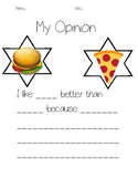 Opinion Writing Prompt