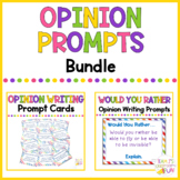 Opinion Writing Prompt Cards BUNDLE