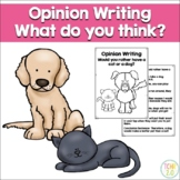 Opinion Writing Cats vs Dogs
