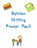 Persuasive - Opinion Writing Prompt Pack