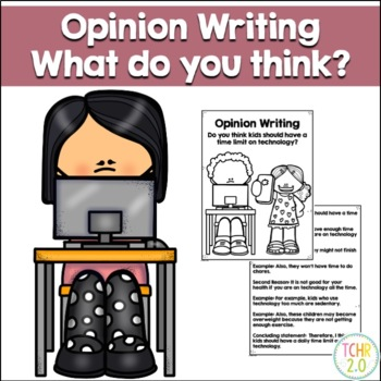 Opinion Writing Prompt Technology Time Limit?