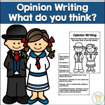 Opinion Writing Prompt Titanic