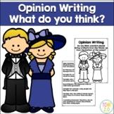 Opinion Writing Titanic Artifacts