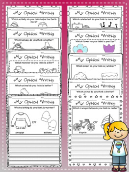 Opinion Writing Prompts- $1.00 ONLY!
