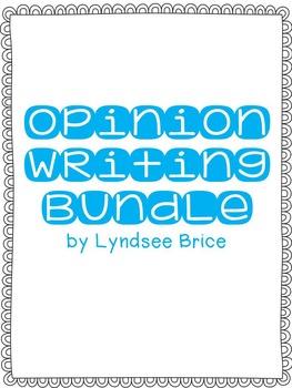 Opinion Writing Prompts Bundle