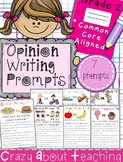 Opinion Writing Prompts-Second Grade