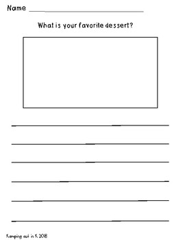 Opinion Writing Prompts WITH PICTURE Freebie