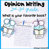 Opinion Writing Prompts: What is Your Favorite Book?