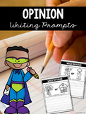 Opinion Writing Prompts for First Grade