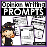 Opinion Writing Prompts for Halloween Differentiated