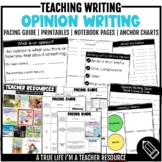 Opinion Writing Resources