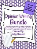 Opinion Writing Bundle CCSS Aligned for Grades 3rd - 5th