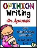 Opinion Writing-SPANISH