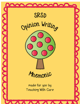 Opinion Writing SRSD