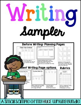 Opinion Writing Sampler