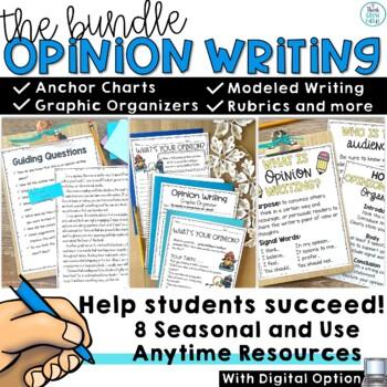 Seasonal Opinion Writing Prompts