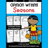 Seasons Opinion Writing