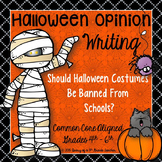 Opinion Writing:  Should Halloween Costumes be Banned From