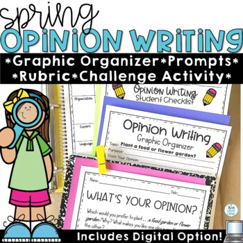 Opinion Writing Prompts Spring