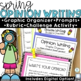 Spring Opinion Writing Prompts