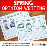 Spring Opinion Writing