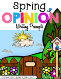 Opinion Writing First Grade (Spring Theme)