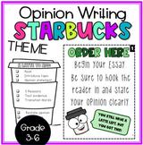 Opinion Writing- Starbucks Theme