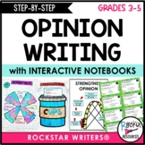 Step By Step Opinion Writing with Model Lessons
