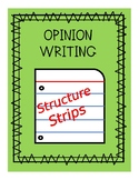 Opinion Writing Editing Strip