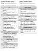 Opinion Writing Student Revising and Editing Checklist Mini Unit