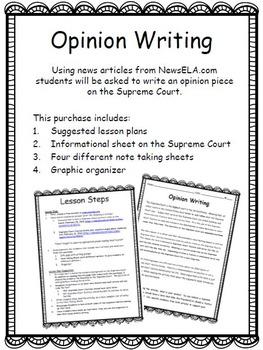 Opinion Writing: Supreme Court
