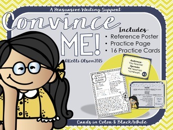 Convince Me: Persuasive Writing Support