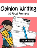 Opinion Writing Templates (With Star Ratings)