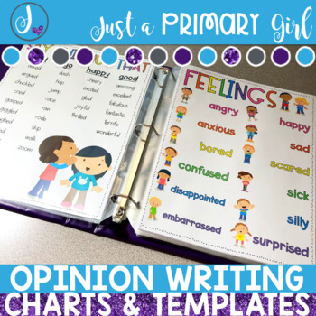 Opinion Writing Templates and Charts
