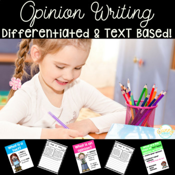 Opinion Writing- Text Based- First & Second Grade