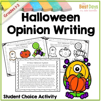 Opinion Writing:  The Best Halloween Symbol