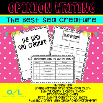 Opinion Writing - The Best Sea Creature