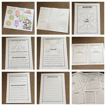 Opinion Writing {This Summer...)