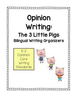 Opinion Writing - Three Little Pigs