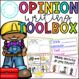 Opinion Writing Toolbox for Beginning Writers