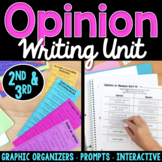 Interactive Opinion Writing Unit | Opinion Prompts & Graph