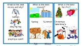 Opinion Writing Topic Cards