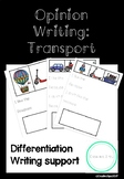 Opinion Writing: Transport