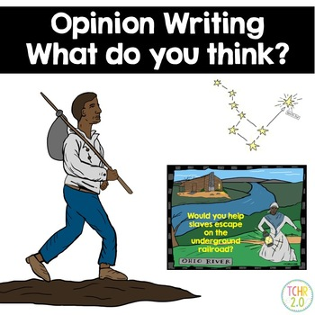 Opinion Writing Underground Railroad Drinking Gourd
