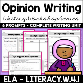 Opinion Writing Prompts (6-Week Unit)