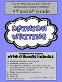Opinion Writing Bundle: Persuasive Writing (graphic organizers, research guides)