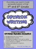 Opinion Writing Bundle: Persuasive Writing (graphic organi